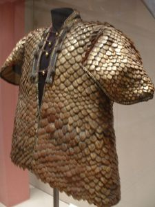 Coat of pangolin scales