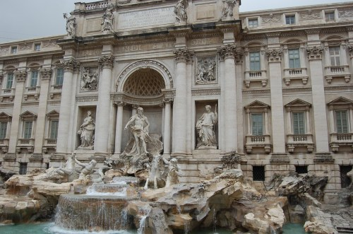 Rome's Trevi Fountain