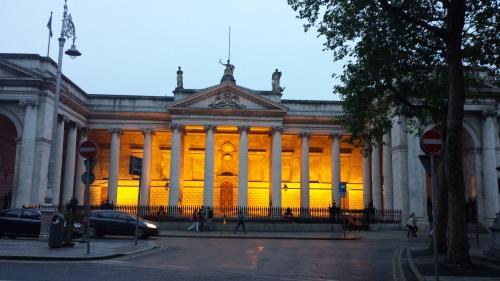 Trinity College entrance, I think.