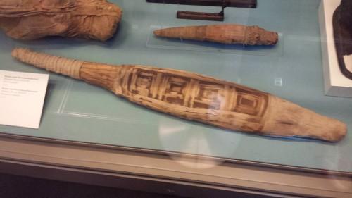 Second small Nile crocodile mummy from >30 B.C, El Hiba, Egypt