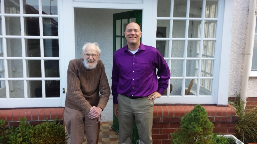 My visit with RMcNeill Alexander in 2014.